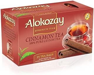 Alokozay Heat Seal Sachets Cinnamon Tea Bags, 25 Bags