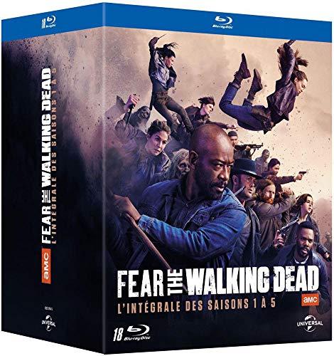 Fear The Walking Dead les saisons 1 à 5 en Blu-ray