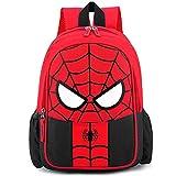 BESTZY Cartable Spiderman, Bag Set Sac  Dos pour Enfants Spiderman Garon Et Fille Cartoon Anime Sac  Dos Cartables Primaire Et Secondaire Small