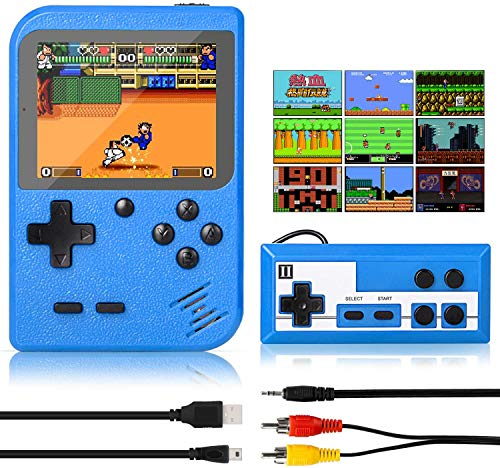 Winique Retro Game Console, Handheld Games Portable Game Player with 500...