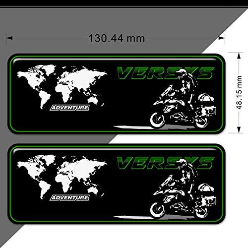 CFHMLK para Kawasaki 300400650 1000 Adventure VERSYS X 250, Protector de Casco VERSYS Pegatinas...
