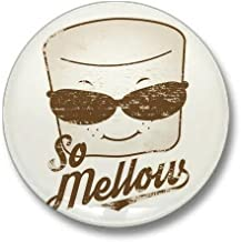CafePress Marsh Mellow Mini Button 1