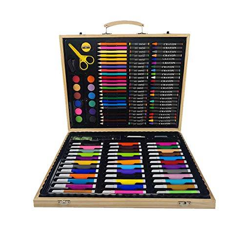 NIUPAN Kinderen tekenen geschenken briefpapier doos schets aquarel pen kunst set krijt penseel potlood kantoor multicolor