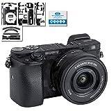Protector de Pantalla para cámara Sony Alpha A6000 + 16-50 mm con Protector de Lente para...
