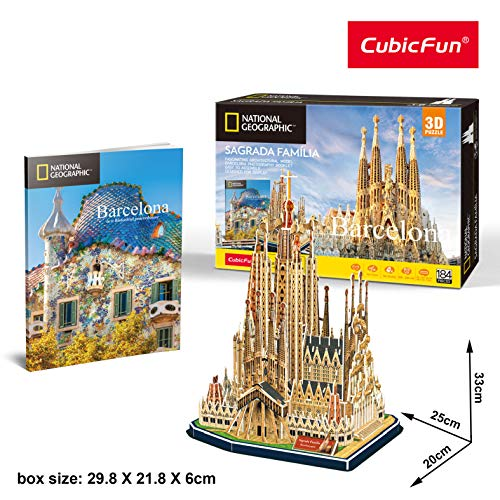 Cubic Fun, 3D puzzel Sagrada Familia (Tachan DS0984h)