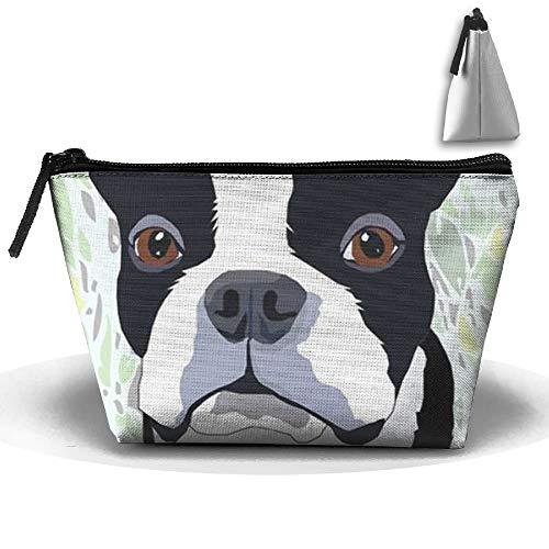 Boston Terrier, tragbare Make-up-Tasche, Aufbewahrungstasche, große Kapazität, Handtasche,...
