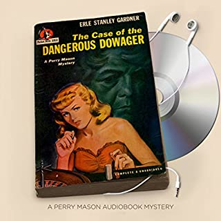 The Case of the Dangerous Dowager audiobook cover art