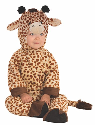 Rubies 510561-T - Disfraz infantil de jirafa para nio, 1-2 aos