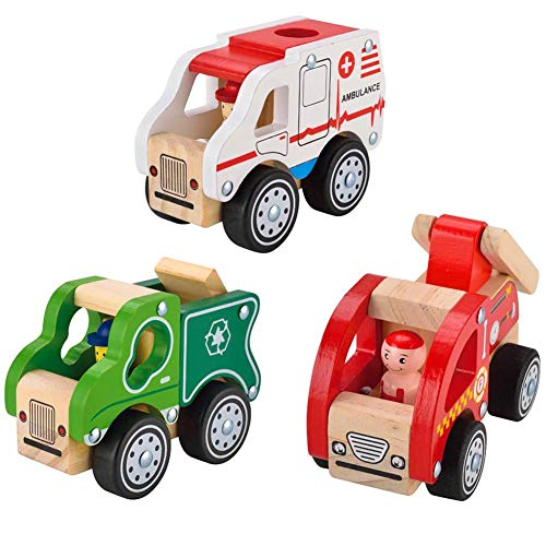 Wooden Roll Cars for Toddlers...