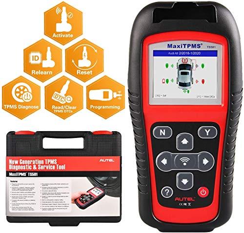 Software Kostenlos Update Autel TPMS RDKS Reifendruck-Kontrollsystem Reifendrucksensoren Universal RDKS-Anlernger/ät Programmierger/ät mit Alle OBD2-Diagnoseger/ät
