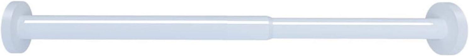LWL Multifunction Shower Curtain Ranking TOP13 Tension Adjustab Max 80% OFF Rod Metal