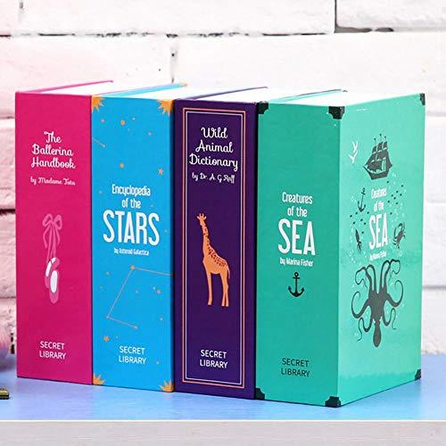 Sue-Supply Caja de Almacenamiento Oculta para Guardar Libros en el hogar