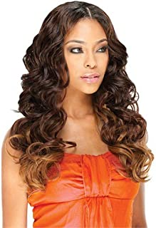 ROMANCE LONG 4PCS (99J) - Model Model Equal Invisible Part Synthetic Hair Weave Extension