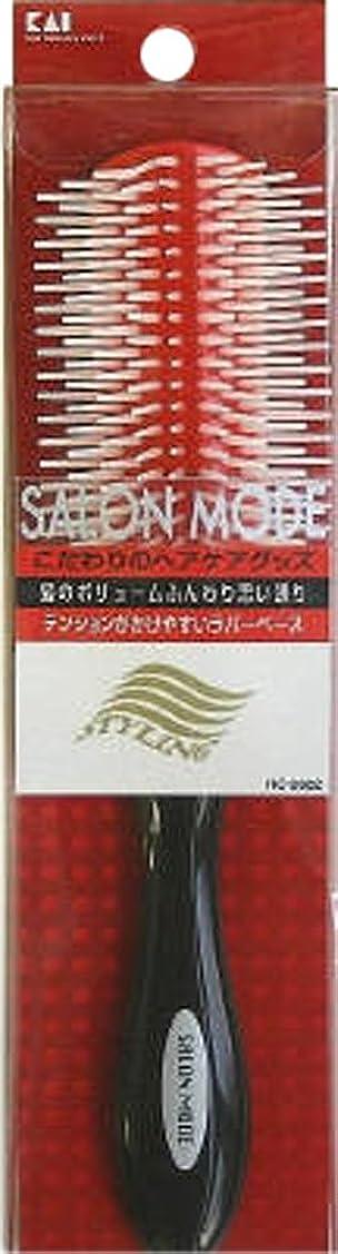 スキッパー池会社サロンモード スタイリングブラシL レッドラバー