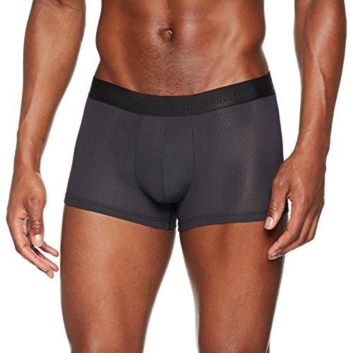 HOM - Herren - Boxer Briefs 'Mesh' - hochwertige Sport Shorts - Black - Grösse M