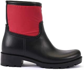 ESEM B0007 Yağmur Botu Kadın Ayakkabı Kırmızı