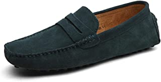 Fashion Summer Style Soft Moccasins Men Loafers Genuine Leather Shoes Men Flats Gommino Driving Shoes