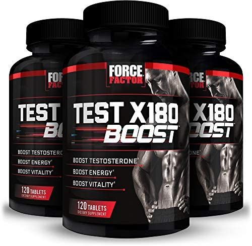Test X180 Boost Testosterone Booster for Men with Fenugreek D Aspartic Acid DAA Tribulus and product image