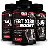 Force Factor Test X180 Boost Testosterone Booster for Men with Fenugreek...