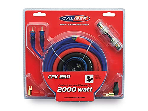 Caliber Cpk25D 2000W Versterker Aansluitset