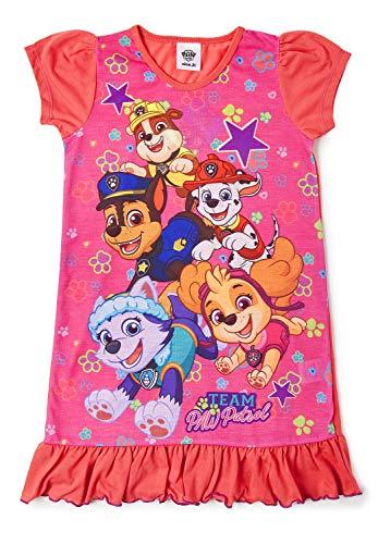 """Disney Prinzessinnen-Nachthemd für Mädchen, verschiedene Motive: """"König der Löwen"""", """"Aladdin"""", """"Cinderella"""", """"Paw Patrol"""", """"Arielle, die Meerjungfrau"""" - Offizielles Produkt Gr. 2-3 Jahre, Paw Patrol"""