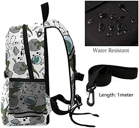 Dinosaurs Toddler School Bag Space Kid Backpack Star Kindergarten Schoolbag Preschool Nursery Travel Bag with Safety Leash Harness for Boys 3-8 Years