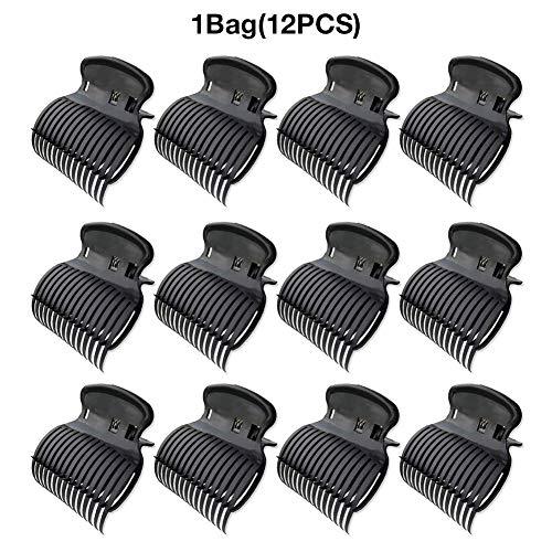 oshidede 12 STÜCKE Hot Roller Clips für Lockenwickler Klaue Clip Abschnitt Styling für Frauen Mädchen Ersatz Haar