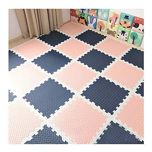 GFSD Alfombra Puzzle Suave Niños for Niños Alfombrilla Espuma Jardín Gimnasio Yoga Gimnástico Ejercicio Físico Los 60x60cm, Combinación Libre (Color : C, Size : 60x60x2.5cm-16pcs)