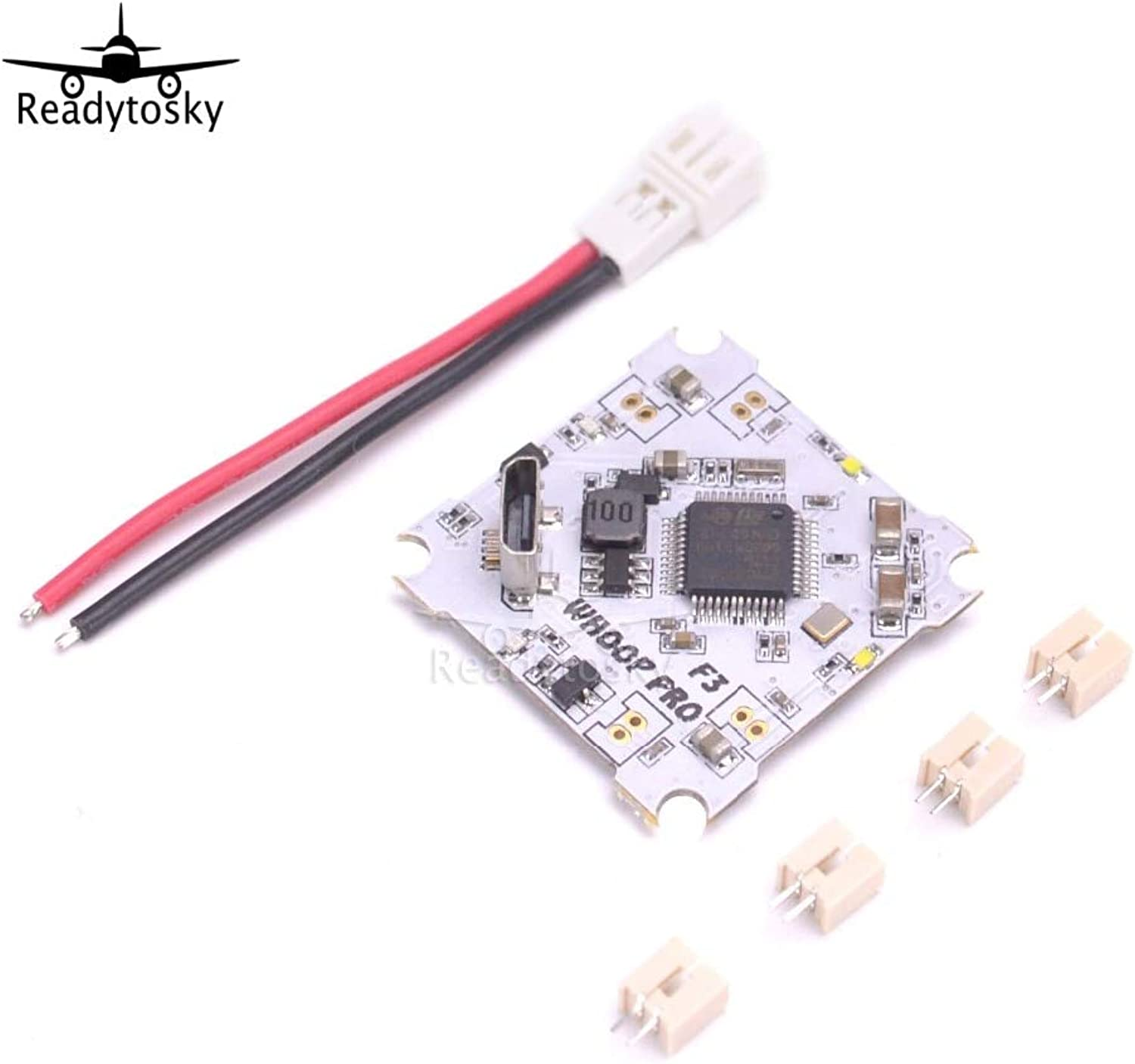 Laliva Newest Whoop pro F3 + OSD Brushed Flight Control Board for Tiny Drone Quadcopter Inductrix E010 E010S 615 716 8520