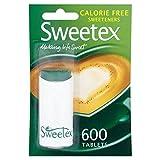 Sweetex Calories Édulcorants Gratuits 600 par Paquet