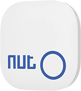 Smart Tag Nut 2 Bluetooth Anti-lost Tracker, Key Finder Tracking Wallet Key Bag Pet Dog Tracer Locator Alarm Patch GPS Locator for iOS/Android (white)