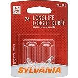 OSRAM Sylvania 74 Long Life Miniature Bulb (Contains 2...