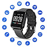 Tipmant Smartwatch Orologio Uomo Donna Fitness Tracker Bracciale...