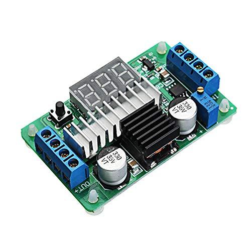 Módulo electrónico DC-DC 3.5-30V 6A 100W Módulo de potencia de potencia de alta potencia ajustable AJUSTE SUPERIOR UP CONVERTADOR DE PABITACIÓN 2 VÍA LED VOLTOTETER DE LED con función de protección de