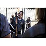The Walking Dead Jeffrey Dean Morgan as Negan Standing Leaning Slightly Smirky Smile 8 x 10 Inch Photo