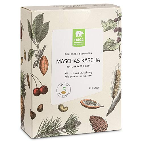 Taiga Naturkost - Maschas Kascha Basis-Müsli gekeimt - 400 g