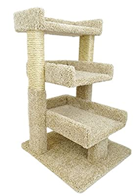 Cat Tree For Older Cats with Large Perch