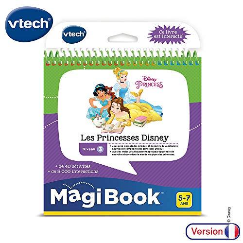VTech MagiBook Les Princesses Disney Chica - Juegos educativos (194 mm, 107 mm, 205 mm, 397,7 g)
