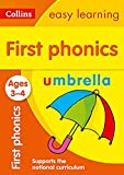 First Phonics Ages 3-4: Ideal for home learning (Collins Easy Learning Preschool)