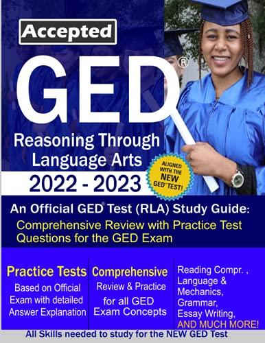 GED TEST Study Guide: RLA 2022-2023: Reasoning Through Language Arts Study Guide - GED RLA Preparati