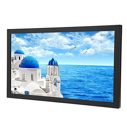 "Wendry Monitor, Monitor de 13.3"", Monitor Industrial para PC, TV, CCTV, Cámara, Seguridad, Computadora, Drone,ect.(1920x1080 Physical Resolution, Monitor HDMI/VGA/AV/BNC/USB,16:9,400CD/m²)(UE)"