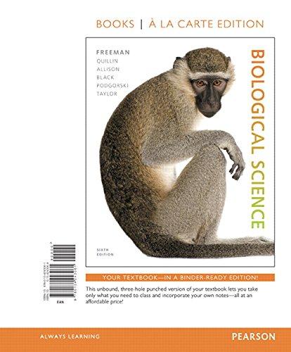 Biological Science, Books a la Carte Edition (6th Edition)