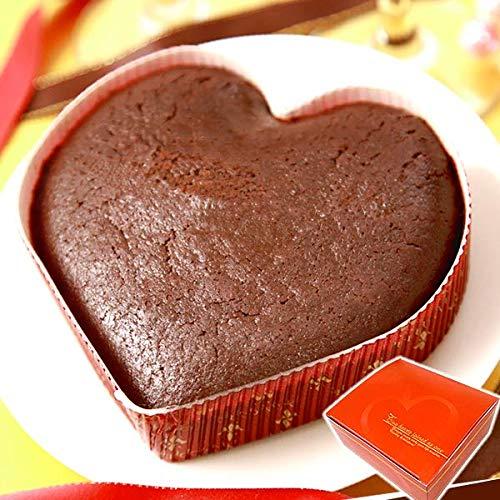 バレンタインチョコ 義理チョコ 人気ランキングギフト バレンタインデーのチョコレートに 職場や学校の大量まとめ買いも おしゃれなおもしろチョコレート菓子 お菓子スイーツ ガトーショコラ(ハート型)