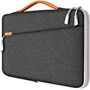 "JETech Laptop Sleeve for 13.3-Inch Tablet, Waterproof MacBook Case with Portable Handle, Compatible with 13"" MacBook Pro and MacBook Air, 12.3"" Surface Pro, Surface Laptop 2017/2018"