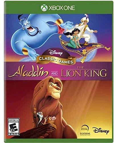 Jogo Disney Classic Games: Aladdin E O Rei Leão Disney - Xbox One