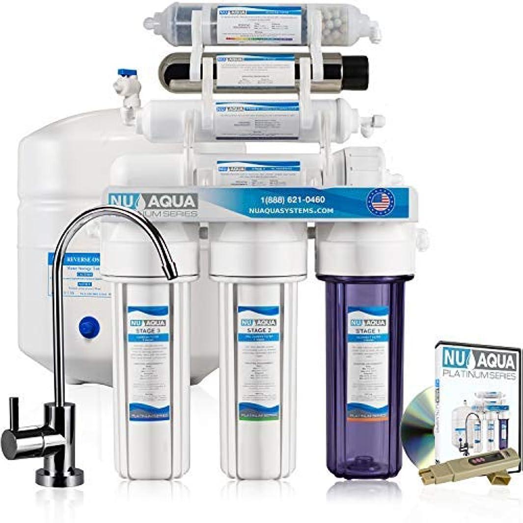 NU Aqua Platinum Series 7 Stage Alkaline and UV Ultraviolet 100GPD RO System