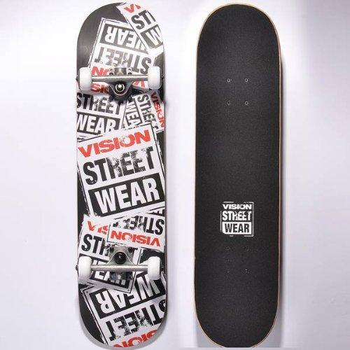 Vision Street Wear, Skateboard Vision 31 Story col Blk