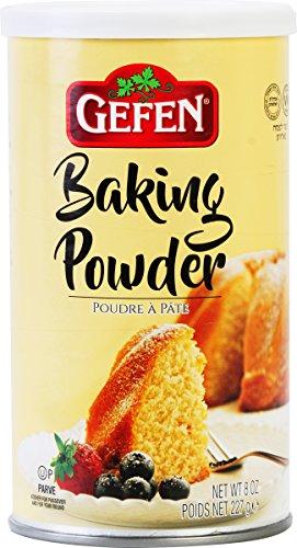 Gefen Baking Powder 8oz (2 Pack), Total of 1LB, Gluten Free, Aluminum Free, Cornstarch Free
