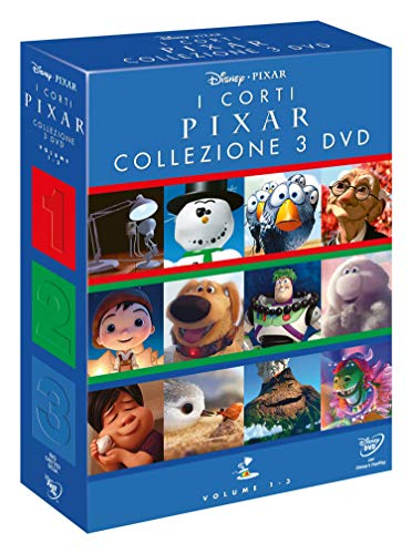 Cof. i Corti Pixar, Vol. 1, 2, 3 (Box Set) (3 DVD)