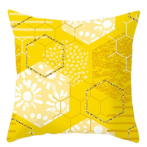 Cushion Covers Cute Pattern Throw Pillow Case Sofa Cushion Cover Cushion Covers Zipper Cushion Bag Daily Decorations for Home Decor, Soft fabric, #6, One size